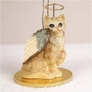 Red Tabby Angel Cat