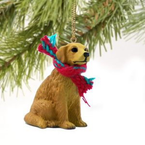 Golden Retriever Miniature Ornament