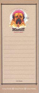 Mastiff Notepad