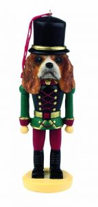 Cavalier King Charles Nutcracker Ornament