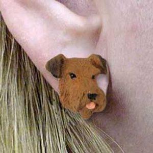 Airedale Earrings