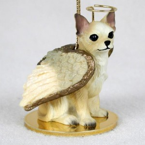 Chihuahua Angel Dog Figurine